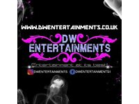 DW Entertainments - Kent Mobile DJ & Disco for hire for all events! weddings, birthdays, parties