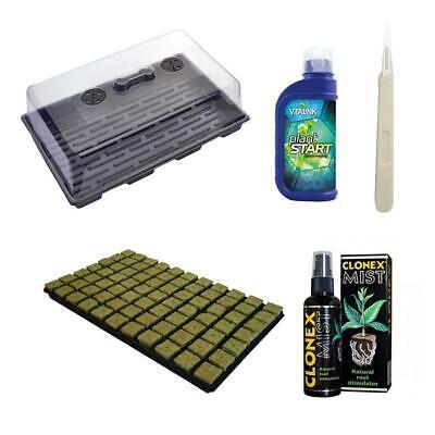 Propagation Starter Kit Clonex VitaLink PlantStart Large Propagator Scalpel