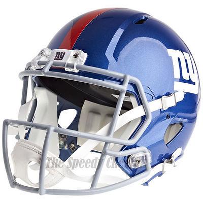 NEW YORK GIANTS RIDDELL SPEED NFL FULL SIZE REPLICA FOOTBALL HELMET](Giants Helmet)