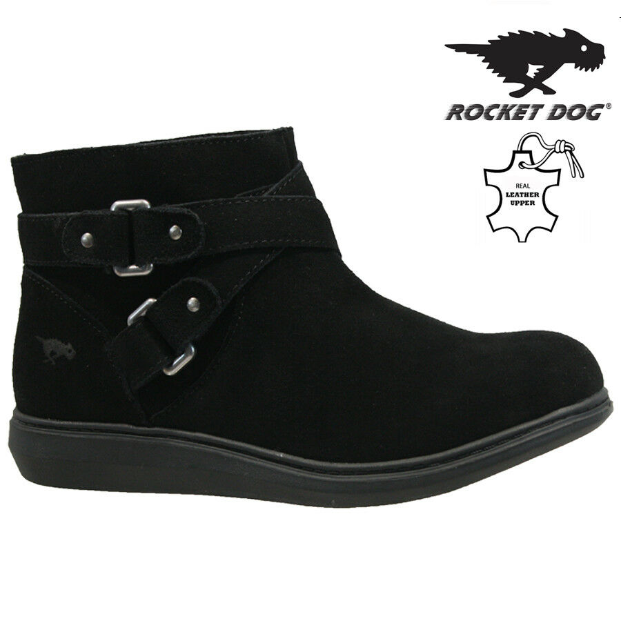 f73a5508690ca ROCKET DOG LADIES LEATHER WINTER SNOW WARM WALKING HIKING ANKLE BOOTS SHOES  SIZE