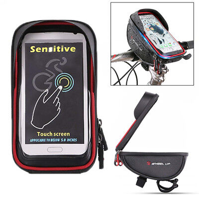 Waterproof Moped Scooter MTB Handlebar GPS Phone Mount Money Key Pouch Box Bag 1