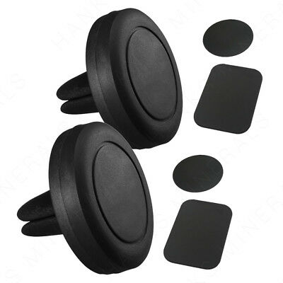 2 Cell X Phone - 2x Magnetic Cell Phone Mount Car Air Vent Holder Stand