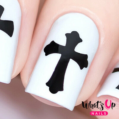 Gothic Stencils for Nails, Halloween Nail Stickers, Nail Art, Nail Vinyls (Nail Art Halloween Stencils)
