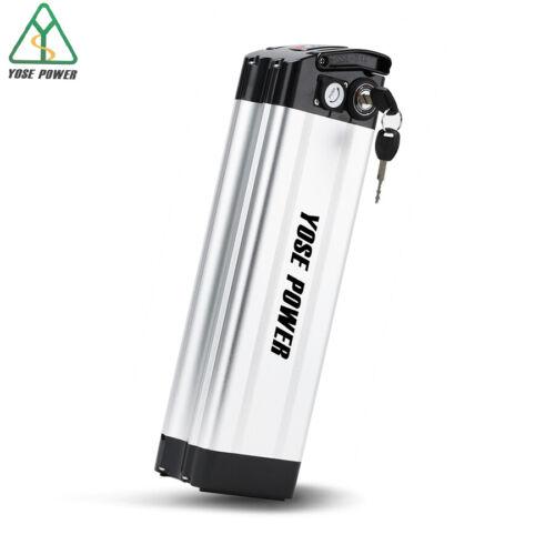 36V 12.5Ah Ebike Battery SilverFish 36V Lithium Battery for Max 500W E bike