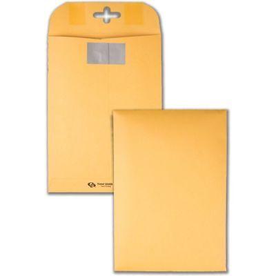 Quality Park Postage Saving Clearclasp Kraft Envelopes 9 X 12 Brown Kraft