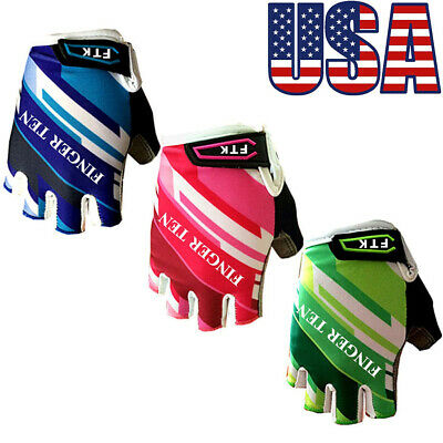 Kids Gloves  Cycling Bike Half Finger Sports Outdoor for Junior Mountain Bike Kids Outdoor Motorcycle