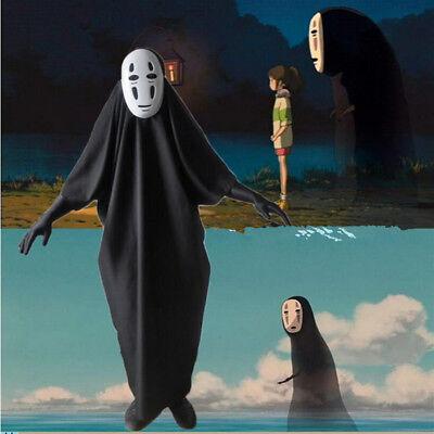 Halloween Cosplay Spirited Away Kaonashi Faceless No Face Man Costume and Mask](Spirited Away Halloween Costume)