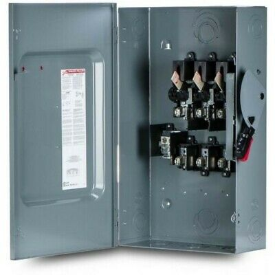 Square D H324n Heavy Duty Safety Switch Fusible 240v 200a 3p