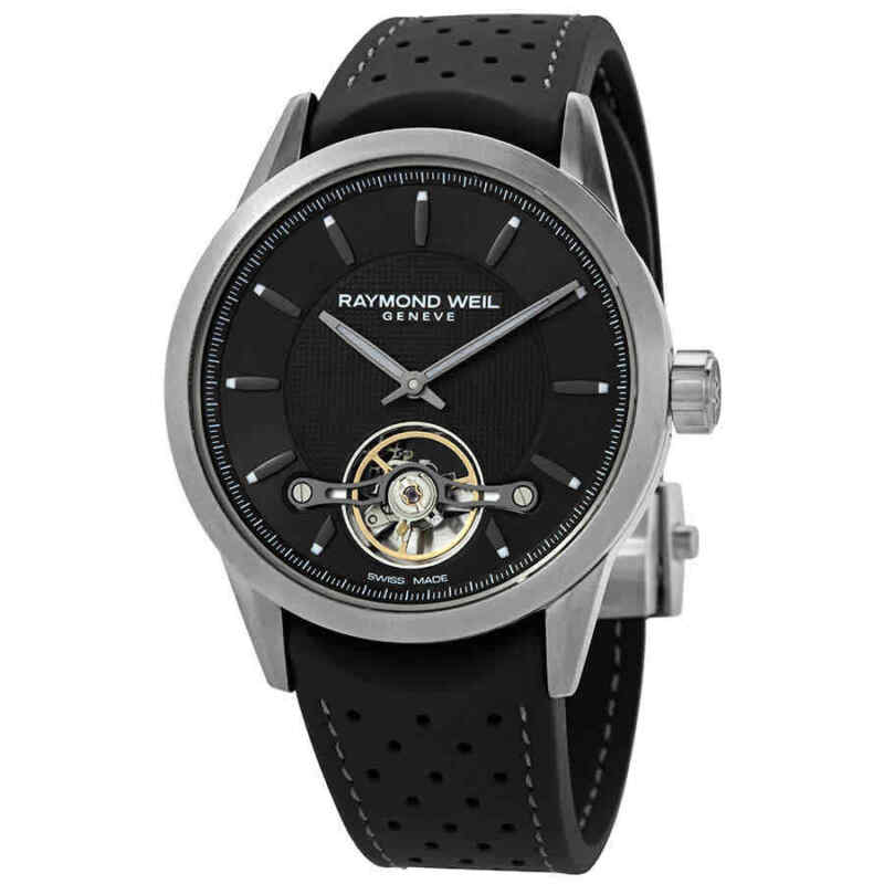 Raymond Weil Freelancer Automatic Black Dial Men Watch 2780-TIR-60001