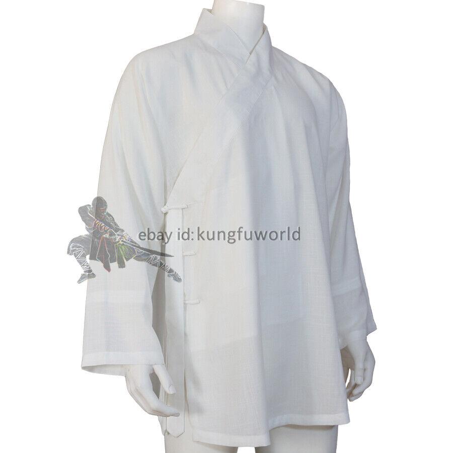 как выглядит Base Shirt Underwear for Buddhist Monk Robe Shaolin Kung fu Suit Tai Chi Uniform фото