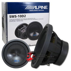ALPINE TYPE-S SWS-10D2 10