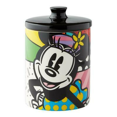 Romero Britto Disney Minnie Mouse Canister Cookie Jar