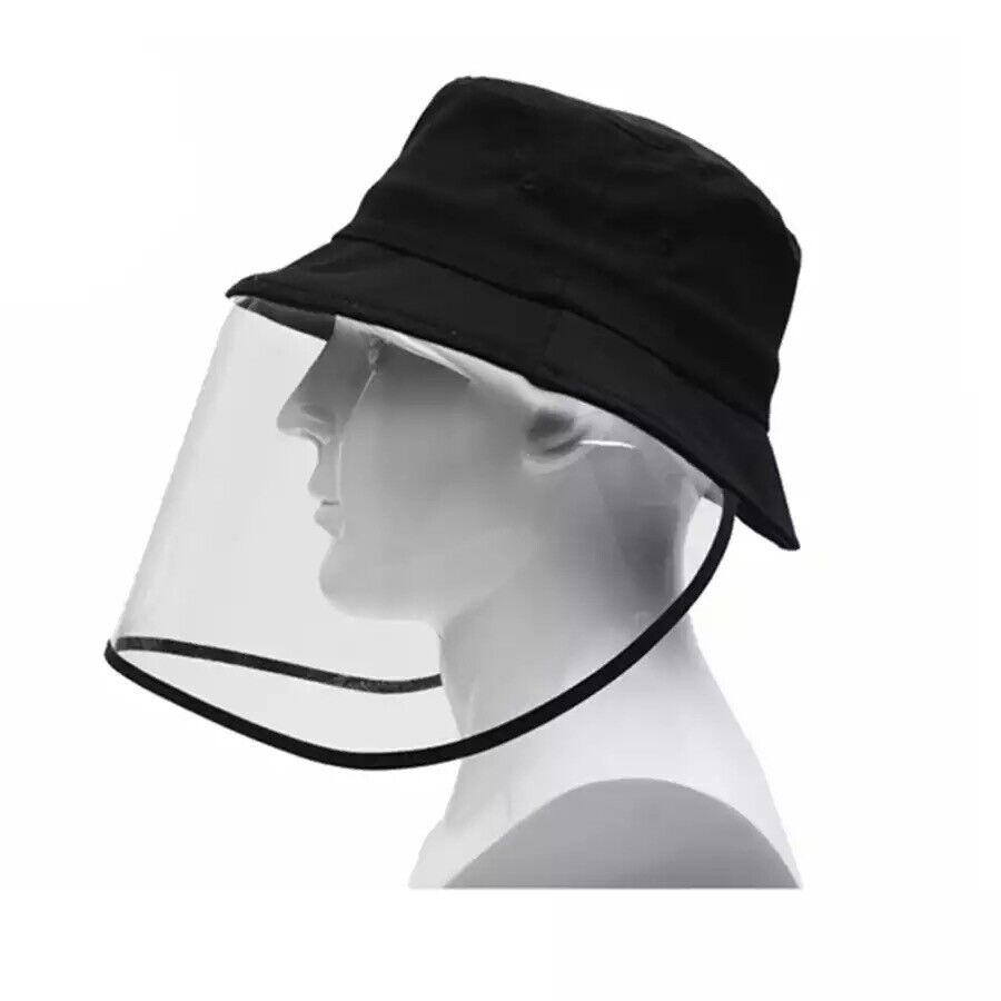 Protective Clear Full Face Cap Anti-dust Saliva Windproof Fisherman Hat Clothing, Shoes & Accessories