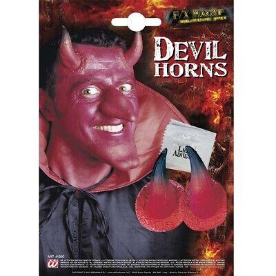 NER # Halloween Rote Teufel Satan Hörner Kostüm Make-Up 4132 (Halloween Hörner Make-up)