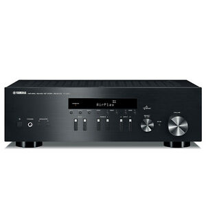 Yamaha R-N301 Network HiFi Stereo Receiver with Airplay (Black) RN301