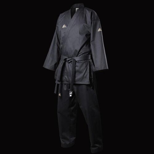 adidas Taekwondo Uniform Open-Style Black Dobok