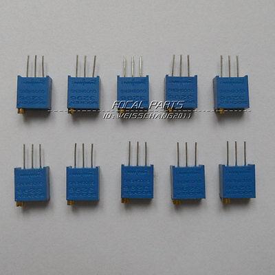 10pcs 3296w 103 10k Trimpot Trim Trimmer Variable Resistor Potentiometer M210