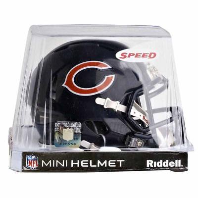 CHICAGO BEARS RIDDELL NFL MINI SPEED FOOTBALL HELMET  Mini Football Helmet