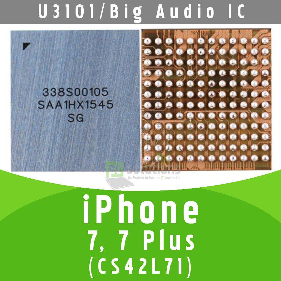 ✅ iPhone 7 / 7 + Plus Big Audio IC U3101 CS42L71 338S00105 Chip Main Audio Codec