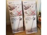 Dyson V6 Cord Free Cordless Vacuum Cleaner unopened box 1 year Guarantee