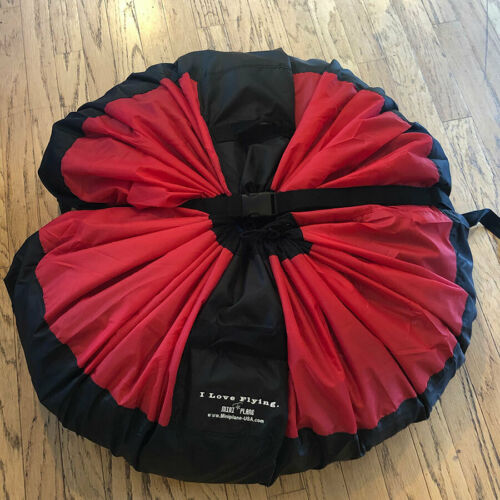 """Stuff Sack for Paragliding and Powered Paragliding with """"I Love Flying"""" emblem"""
