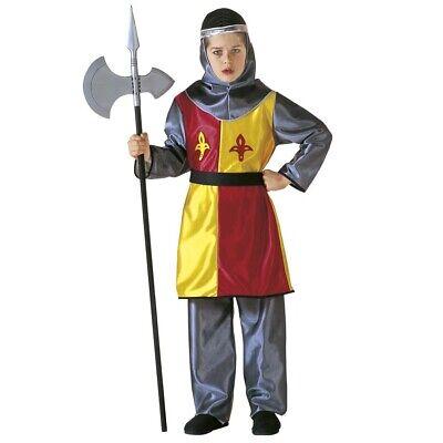 KINDER RITTER KOSTÜM Karneval Mittelalter Kreuzritter Königliche Garde - Mittelalterliche Kostüme Kinder