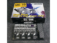 Boss ME70 Guitar Effects Pedal Like New