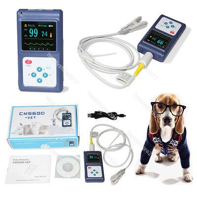 Ce Veterinary Pulse Oximeter Cms60d-vettongue Spo2 Probepc Software Vet
