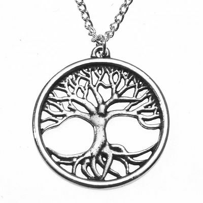St Justin Pewter Tree of Life Pendant Necklace in Gift Box PN810 British Made
