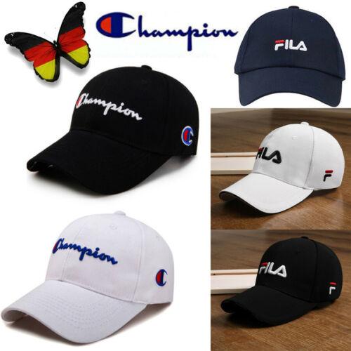 Basecap FILA Herren Damen Sport Hüte Mützen Golf Cap Kappe Trucker champion Hut