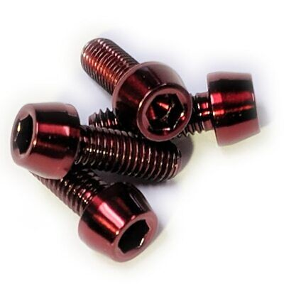 for-Elite,Tacx,FSA,Tune,Lightweight J/&L Water Bottle Cage Bolts 0.6g*4pcs