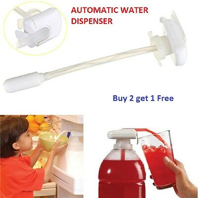 Fridge Shelf Drinks Dispenser Bottle Water Pump BEVERAGE Tap Juice Spill Proof