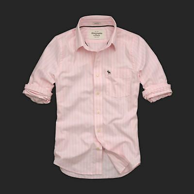 Abercrombie And Fitch Color Y Diseño Camisa -XL