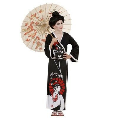 M Karneval Asien Japanerin Asiatin Japan Kimono Mädchen 5736 (Mädchen Geisha-kostüm)