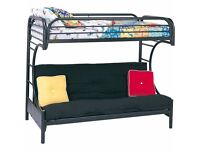 BUNK - BED SETTEE COMBO Torquay. Ideal for Sleep Overs, Guest Rooms, Students,Kids. 40 Quid