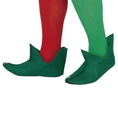 Weihnachten Kostüm Unisex Elf Stiefel Grün Elfe Schuhe von - Elf Weihnachten Kostüm Schuhe