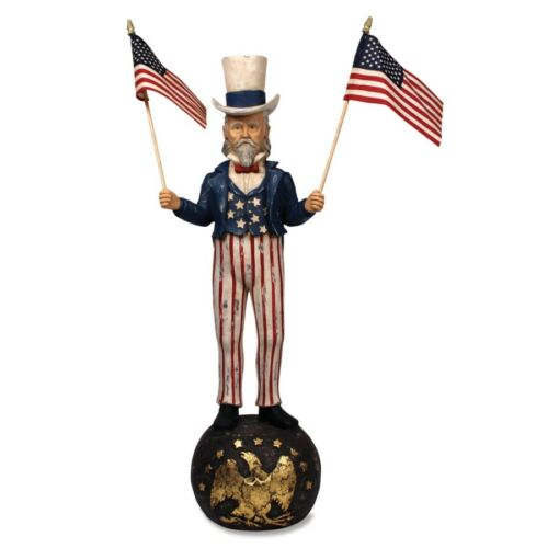 Bethany Lowe: 4TH of July; Patriotic; Americana; Uncle Sam Large item# TJ2401