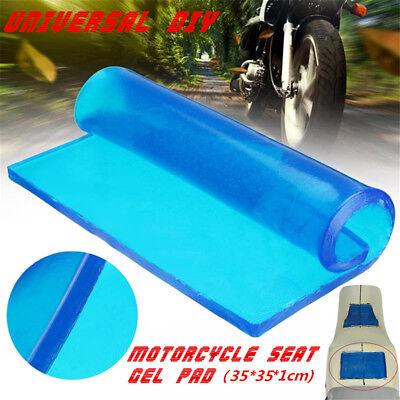 Universal Motorcycle Seat Gel Pad Polyurethane Elastic Fiber Seat Mat 35x35x1cm