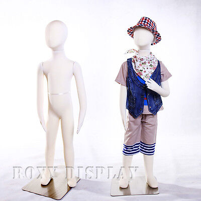 Full Body Jersey Covered Flexible Children Mannequin Dress Form Display Ch05t