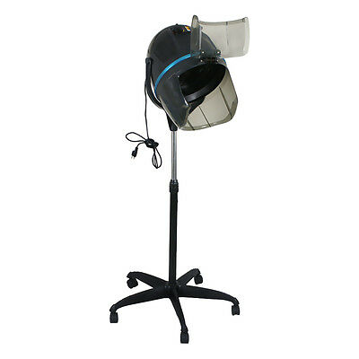 Professional 1300W Hair Bonnet Dryer Hot Perm W/Swivel Casters for Salon Hair Care & Styling
