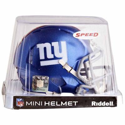 NEW YORK GIANTS RIDDELL NFL MINI SPEED FOOTBALL HELMET