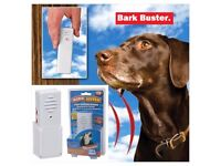 BARK BUSTER Ultrasonic Bark Stopper for Dog or Puppy. Wireless Signal. Portable Device