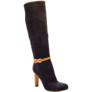 Ivanka trump blue suede boots 6.5