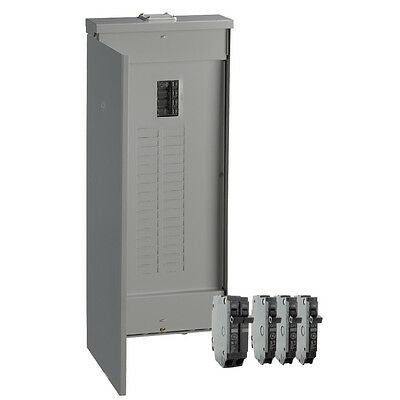 Ge 200-amp 32-space 40-circuit Copper-bus Home Outdoor Main-breaker-box Panel