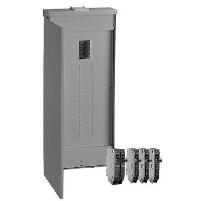 Ge 200-amp 32-space 40-circuit Copper-bus Home Outdoor Main-breaker-box Panel