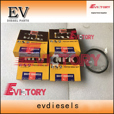 For Yanmar excavator S4D106 4TNE106T 4TNE106 S4D106E piston ring set