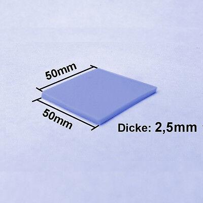 [EC-360™ BLUE] 2,5MM Wärmeleitpad 50x50mm 5W/mK → ThermalPad GPU RAM