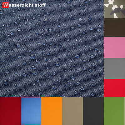 600d Oxford (Polyester Stoff OUTDOOR wasserdicht OXFORD 600D PVC Polyester 150cm Meterware)
