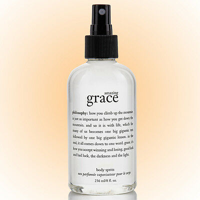 philosophy amazing grace perfumed body spritz, 8 fl oz