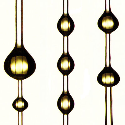 """Abstract Collection - Golden Drops #3 - 24"""" x 24"""" Canvas Art Poster"""